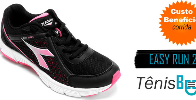 diadora easy run 2 feminino