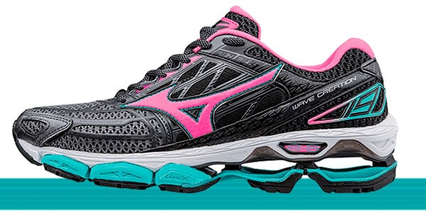 tênis mizuno feminino wave creation 19