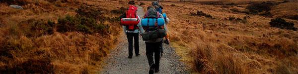 trekking e trilha