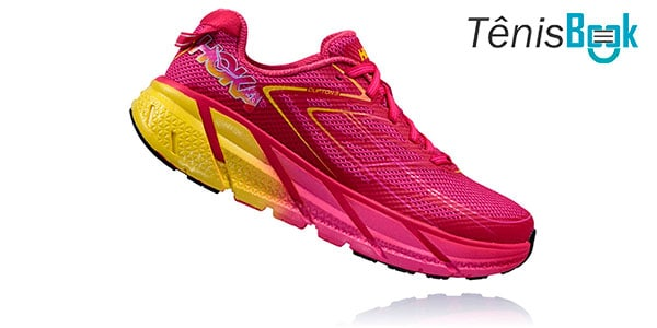 hoka one one clifton 4 feminino
