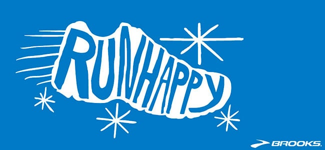 run happy by brooks