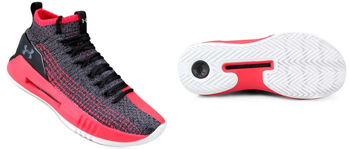 under armour heat seeker para basquete