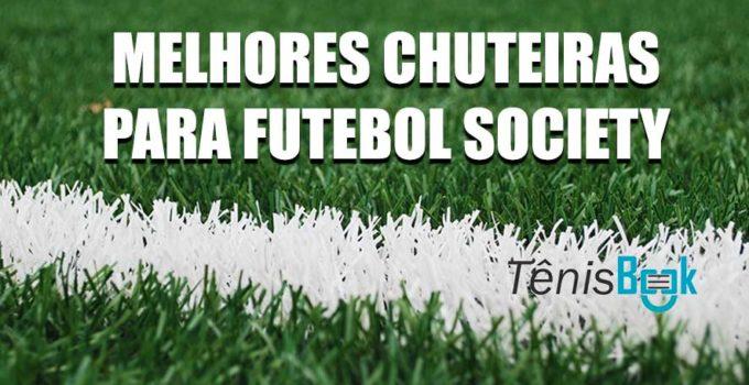 chuteiras futebol society