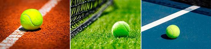quadras de tenis