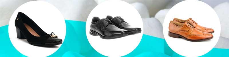 Sapatos sociais para quem trabalha em escritórios