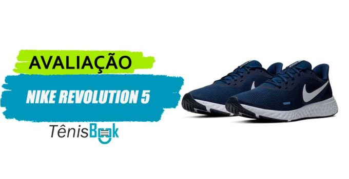 avaliacao nike revolution 5