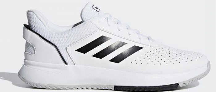 adidas courtsmash masculino branco