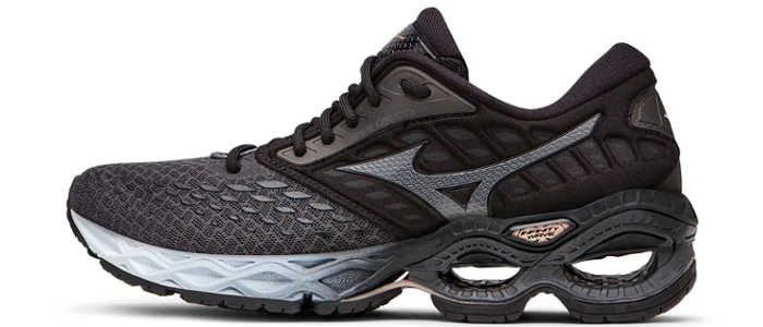 mizuno wave creation 21 masculino preto