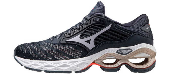 mizuno wave creation 22 feminino preto