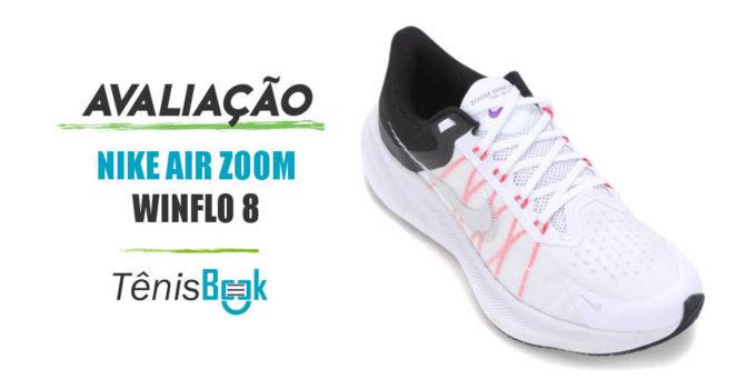 avaliação do tênis nike air zoom winflo 8