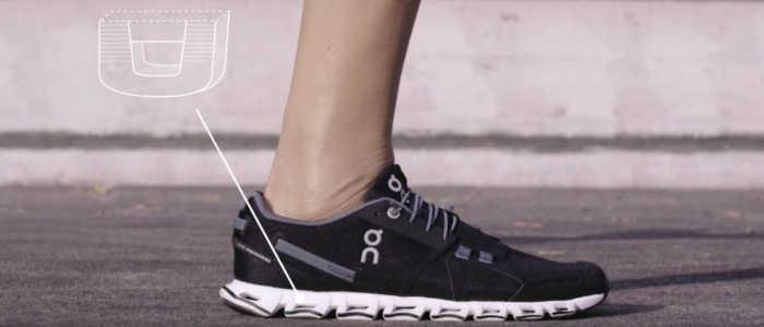 tecnologias dos tênis ON Running