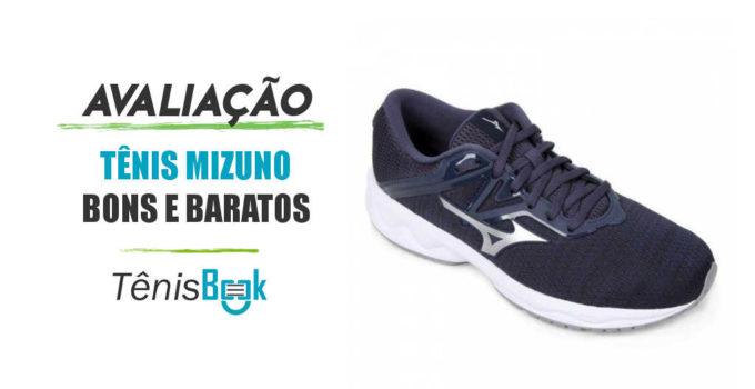 tênis Mizuno bons baratos e confortáveis