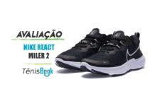 Nike React Miler 2: Avaliação